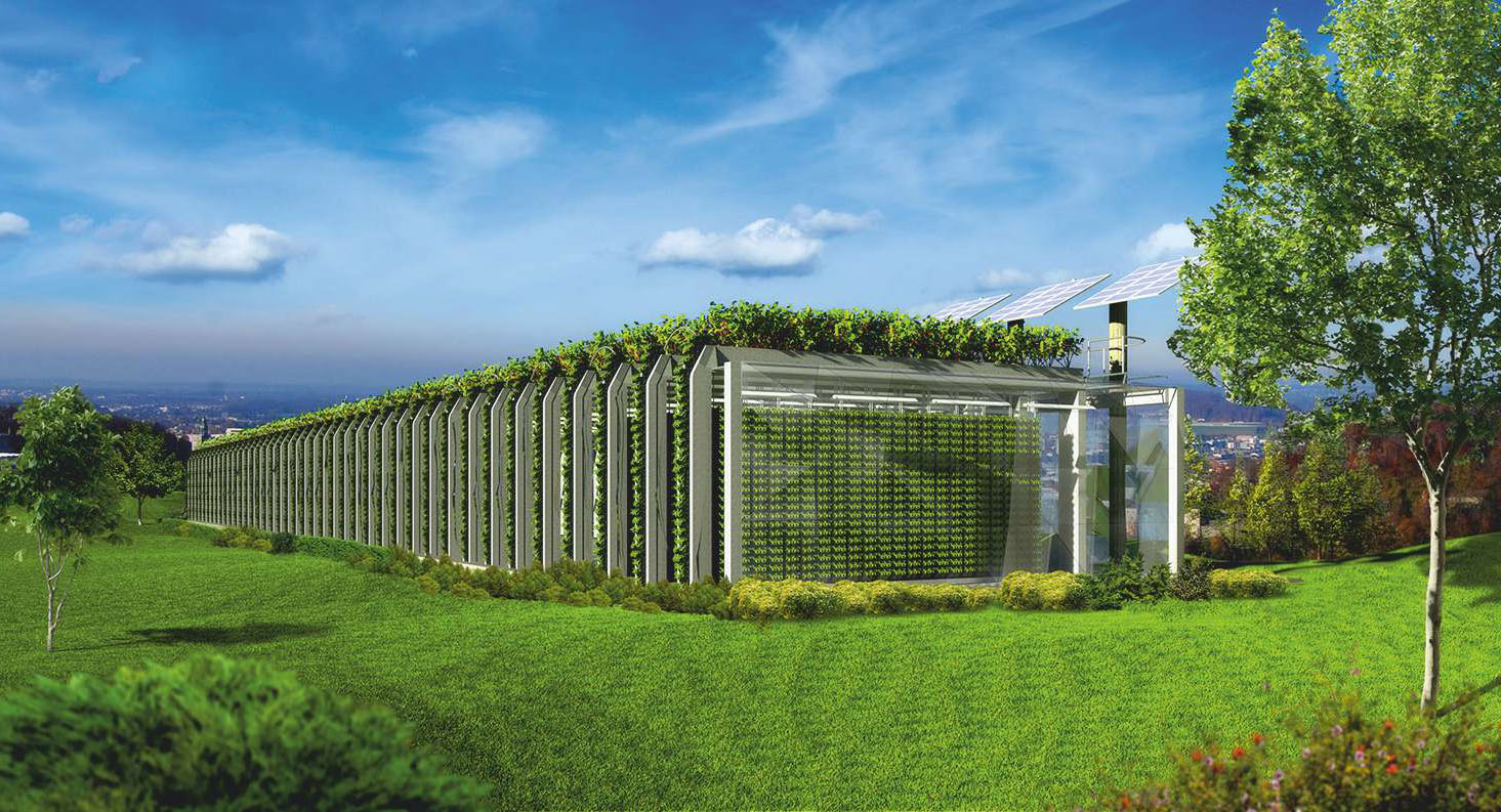 Gardarica Vertical Greenhouse