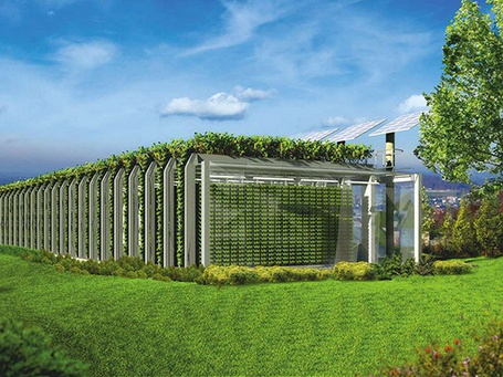 Gardarica Vertical Greenhouse